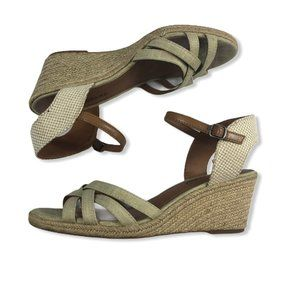 Lucky Brand Kalley Wedge Sandals Size 10